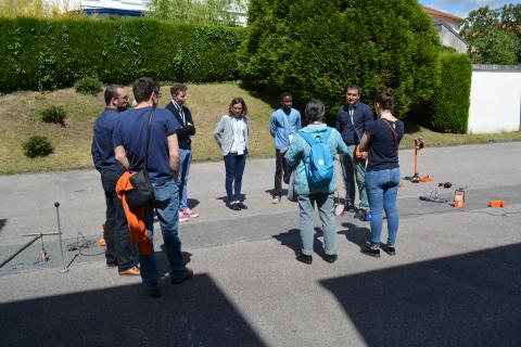 Inauguration des installations de l'OIEau - Atelier sur la détection de fuites