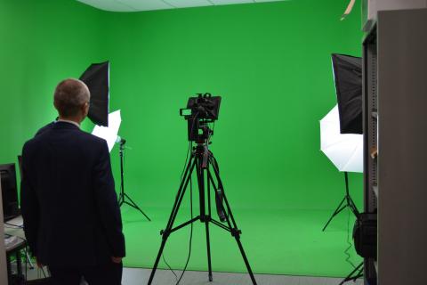 Inauguration des installations de l'OIEau - Atelier/Parcours libre du studio multimédia