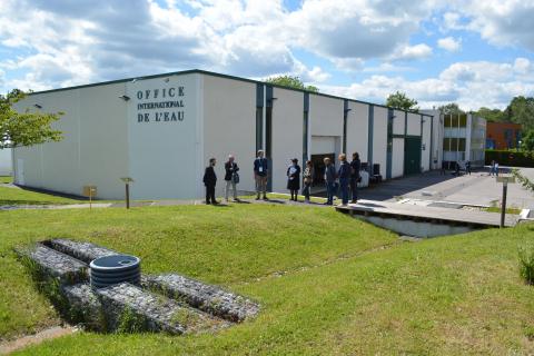 """Inauguration des installations de l'OIEau - Atelier/Parcours libre de la plateforme """"eau pluviale"""""""